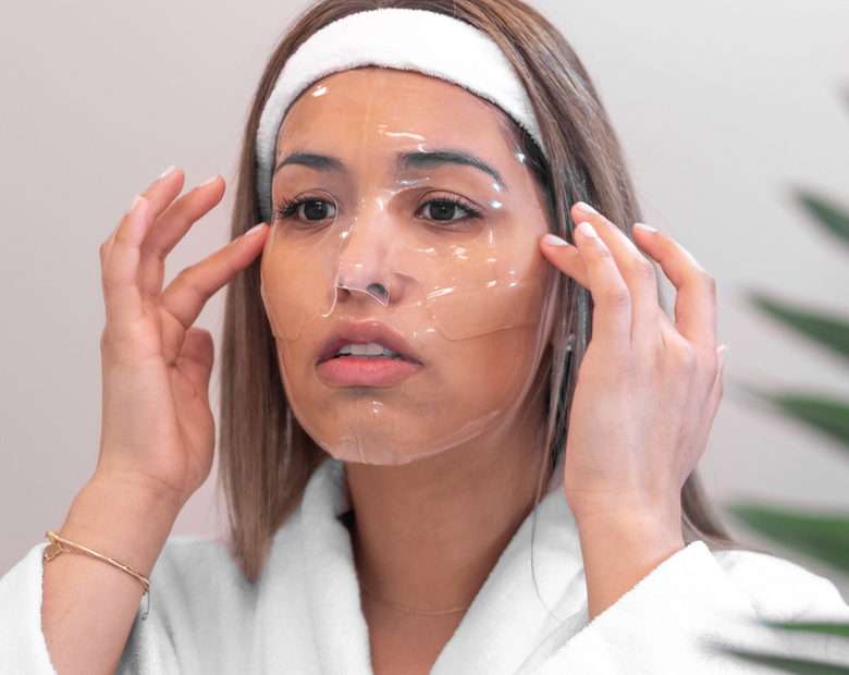 product omnilux hydrogel mask clear